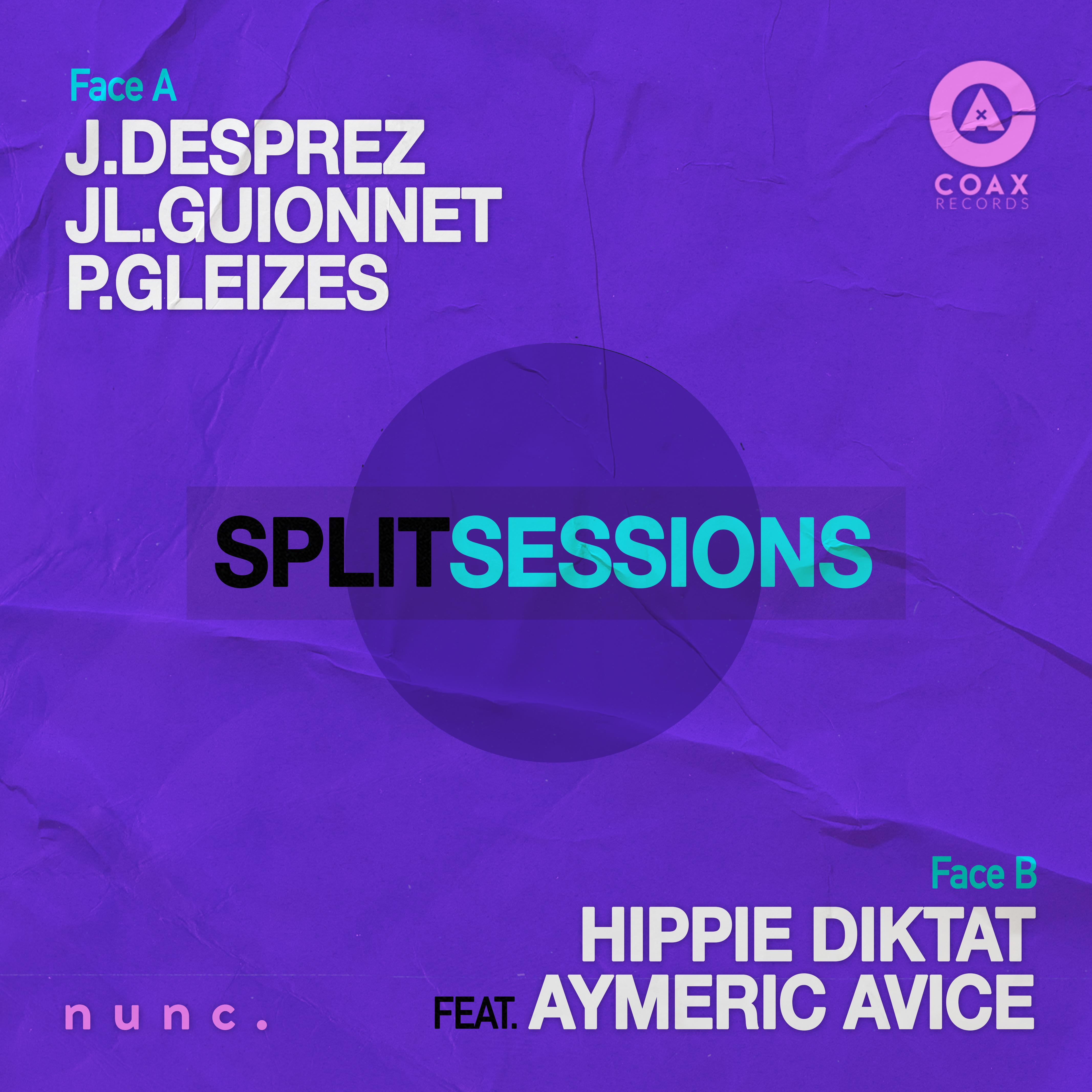 - SPLIT SESSIONS - Desprez Guionnet Gleizes / Hippie Diktat Feat. Aymeric Avice